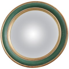 1930s French Bullseye Mirror