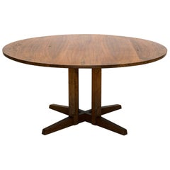 Early George Nakashima Round Cluster Table, United States, 1958