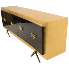 Midcentury Mexican Modernist Stunning Credenza after Arturo Pani