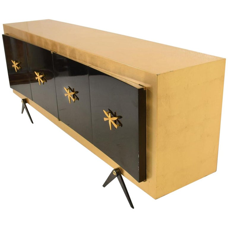 Midcentury Mexican Modernist Stunning Credenza after Arturo Pani 1