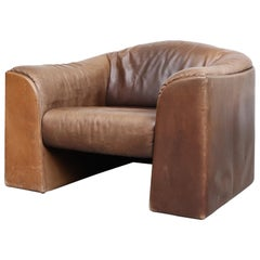 Walter Knoll Leather Lounge Chair