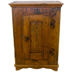 Early 19th Century Baltic Pine Cabinet