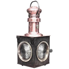 French Victorian Railroad Embarkment Lantern