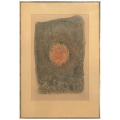 Mark Tobey, Seattle, WA, New York, Lithographie