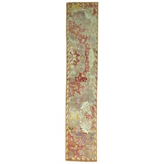 Narrow Antique Turkish Sivas Runner