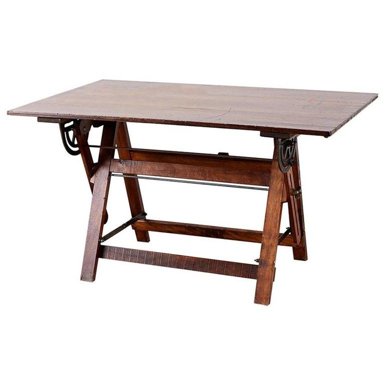 Amerikanische Faltung Zeichentisch oder Schreibtisch 1