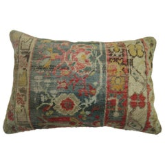 Antique Oushak Lumbar Pillow