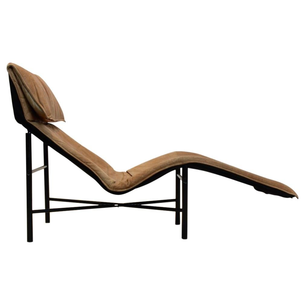 By Tord 'skye' Sophisticated Longue 1970 BjörklundSweden Cognac Leather Chaise TclFuK135J