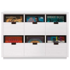 Dovetail 3 x 2 Vinyl Storage Cabinet Glacier White Finish
