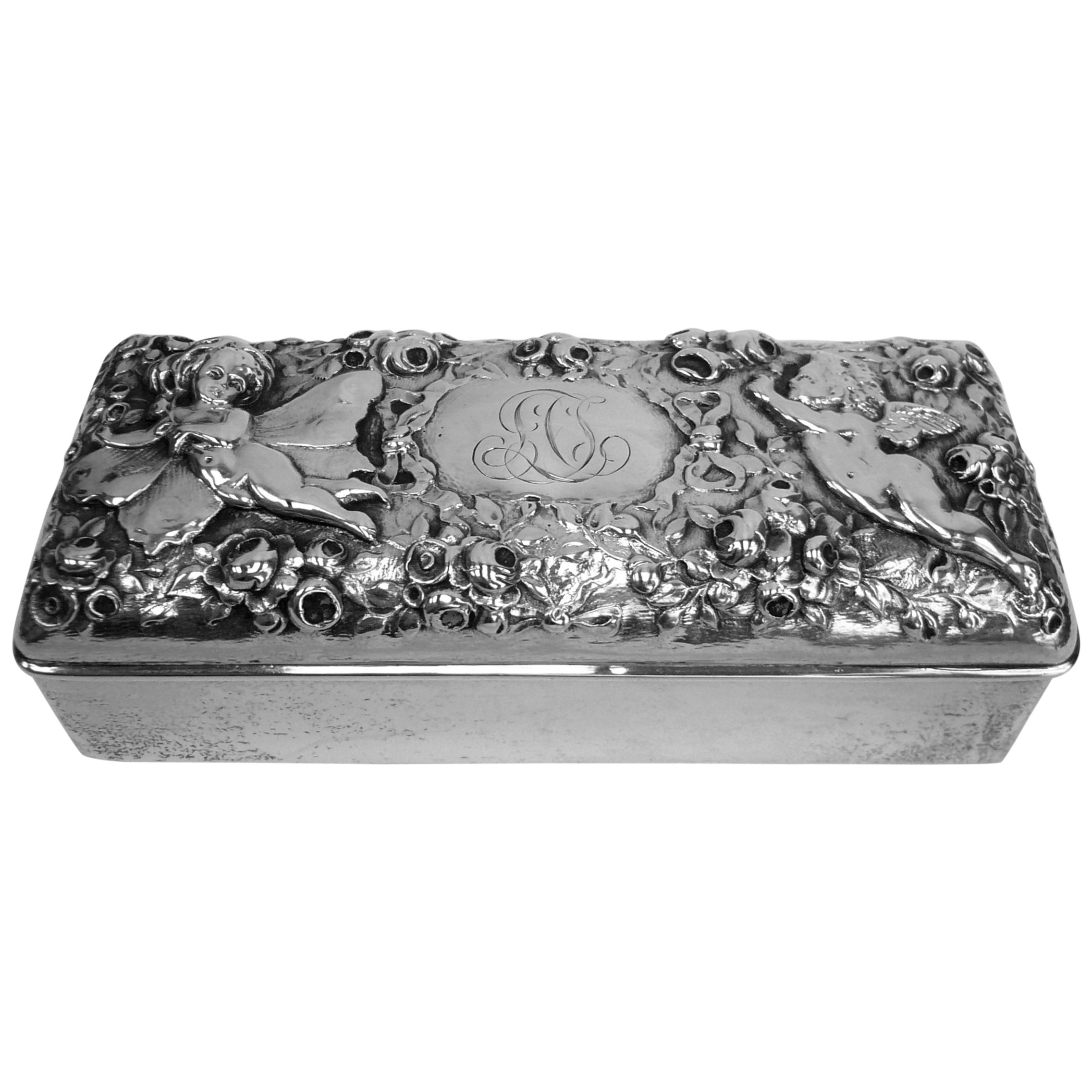 Gorham Sterling Repousse Box