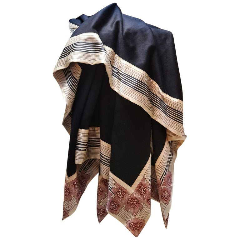 """Lambswool and Cashmere """"NOW VOYAGER"""" Luxury Wool Blanket King Size  For Sale"""
