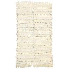 Vintage Moroccan Wedding Blanket, Berber Handira Tamizart