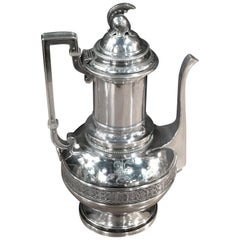 Tiffany & Company, English Sterling 550 Broadway, Neo-Greek Coffee Pot