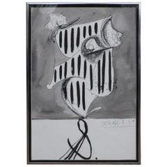 Framed Modern Art Print