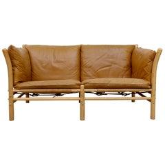 Arne Norell Ilona Leather Sofa, 1960s