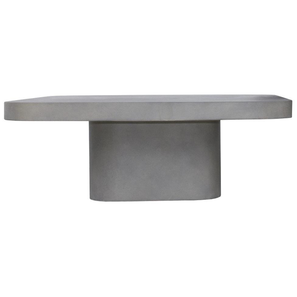 Modern Design Concrete Coffee Table