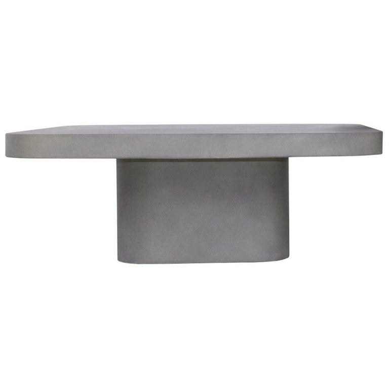 Modern Design Concrete Coffee Table For Sale