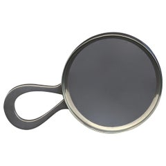Silver Loop Handle Magnifying Glass, hallmarked 1921