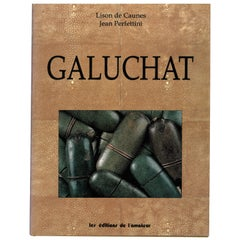 Galuchat, Book on Furniture made from Shark and Ray skin called Shagreen