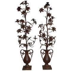 Pair of 19th Century Candelabras