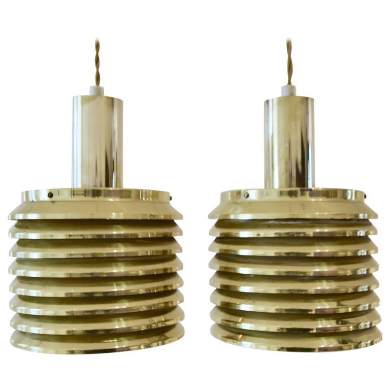 Hans-Agne Jakobsson Ceiling Lights Model T-642, Sweden, 1950s For Sale