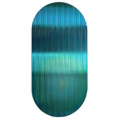 Color Shift Panel Trichroic Green with Glass and Color Sublimated Mirror