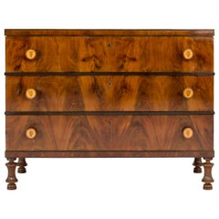 Mahogany Chest of Drawers by Otto Schulz