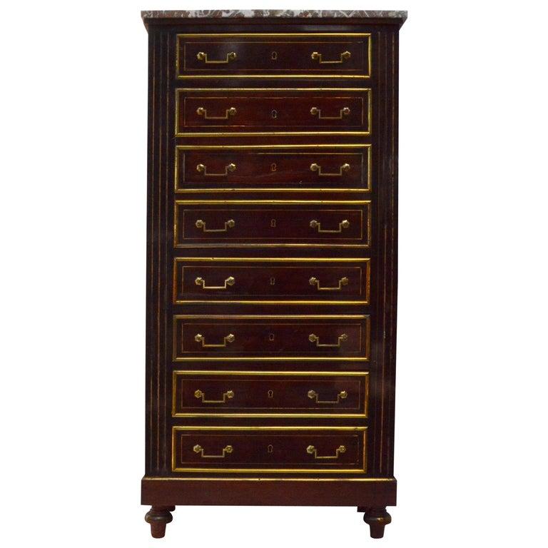 Empire Dresser or Secretary, Paris, 1810s For Sale