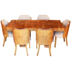 Harry and Lou Epstein Art Deco Dining Suite