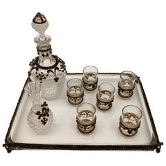 Austrian Glass Drinking Set