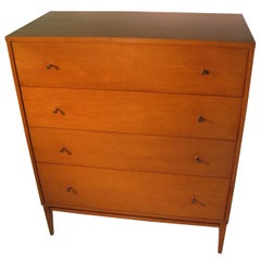 Mid-Century Modern Paul McCobb Planner Group 4-Drawer Dresser