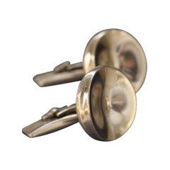 Georg Jensen Sterling Silver Cufflinks Designed by Nanna Ditzel