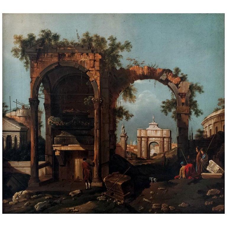Capriccio with Ruins For Sale