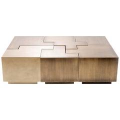 Puzzle Table by Gulla Jonsdottir - New York