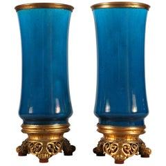 Fine Pair of Vases by C. Rudhardt