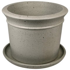 Massive David Cressey Stone White Architectural Pottery Pro Artisan Planter
