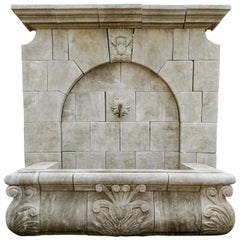 Gothic Revival Wall Fountain