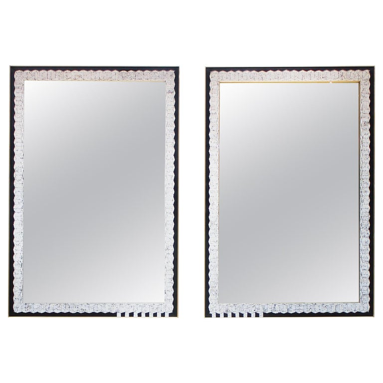 Espelho Mirrors, Featuring Hand Cracked Eggshell 'Coquille D'oeuf'