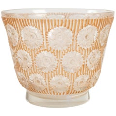 "Rene Lalique Vase ""Edelweiss"""