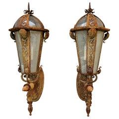 Pair of 19th Century Entry Lanterns