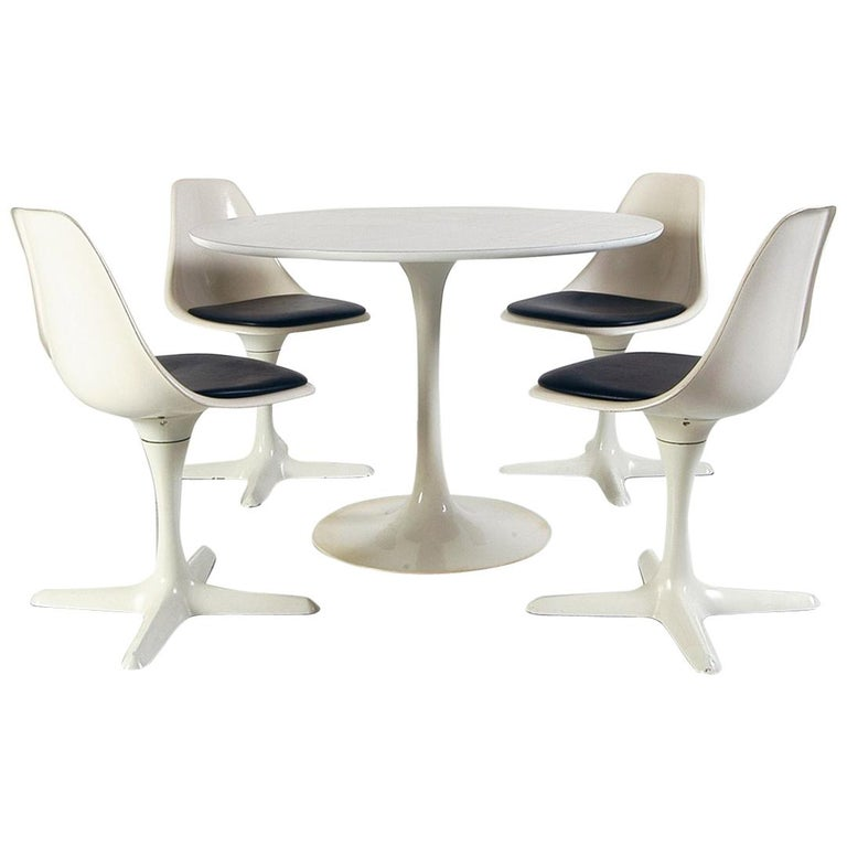 1960s Dining Room Suite by Maurice Burke for Arkana Bath England Midcentury For Sale