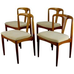 Set of 4 'Juliane' Teak Dining Chairs by Johannes Andersen
