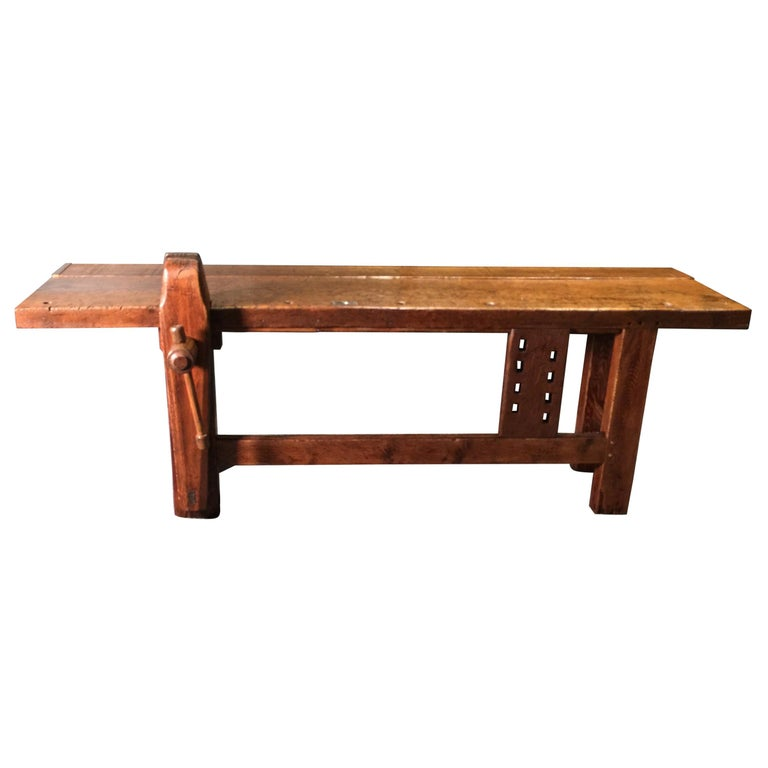 Pleasing Amazing Antique Work Bench Early 20Th Century At 1Stdibs Customarchery Wood Chair Design Ideas Customarcherynet
