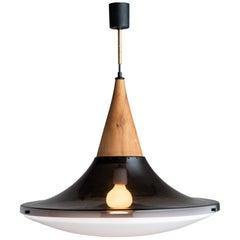 Suspension Lamp by Goffredo Reggiani, Italy, circa 1960