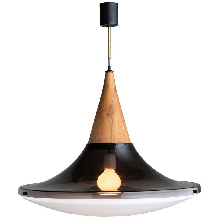 Suspension Lamp by Goffredo Reggiani, Italy, circa 1960 For Sale