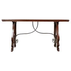 Mid-17th Century Italian Side Table from Tuscany
