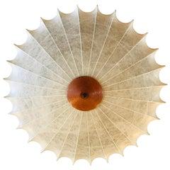 Achille Castiglioni 1960s Italian Flush Ceiling Light