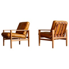 Pair of Swedish Easy Chairs, 1960s