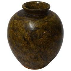 Jaspe Glaze Vase, China, 1940s