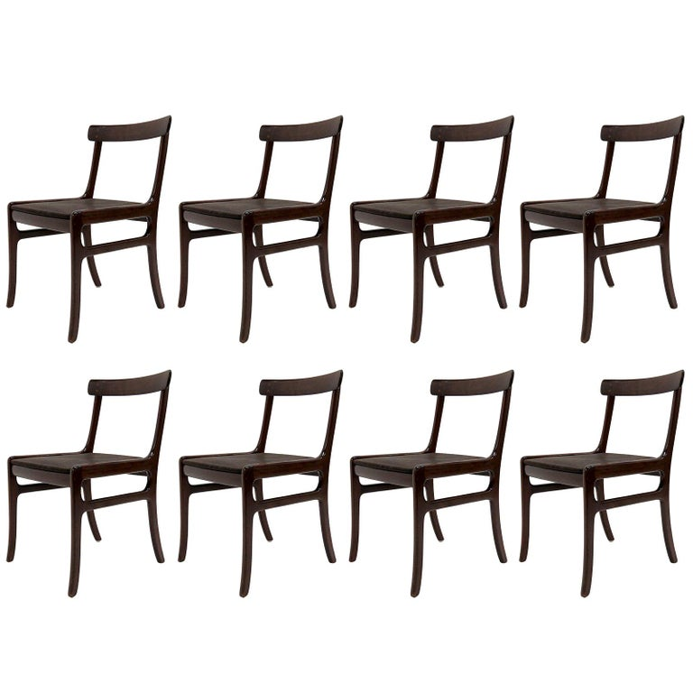 Ole Wanscher Dining Chairs 1